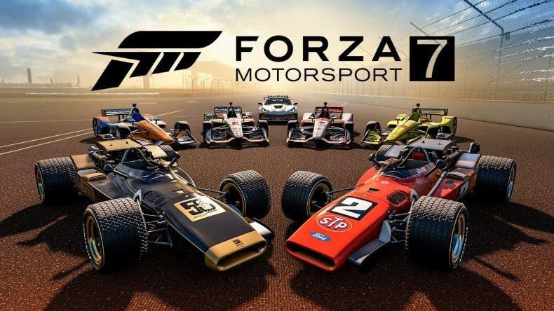 La IndyCar gana más presencia en Forza Motorsport 7 con nuevos coches en su nueva actualización 1