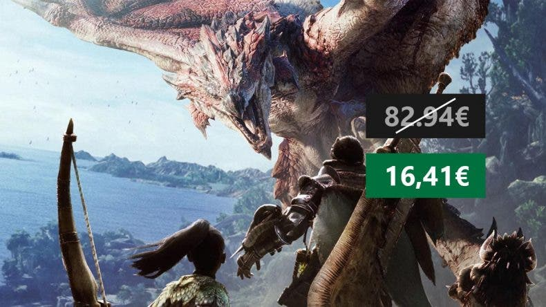 Hazte con Monster Hunter World con un importante descuento 1