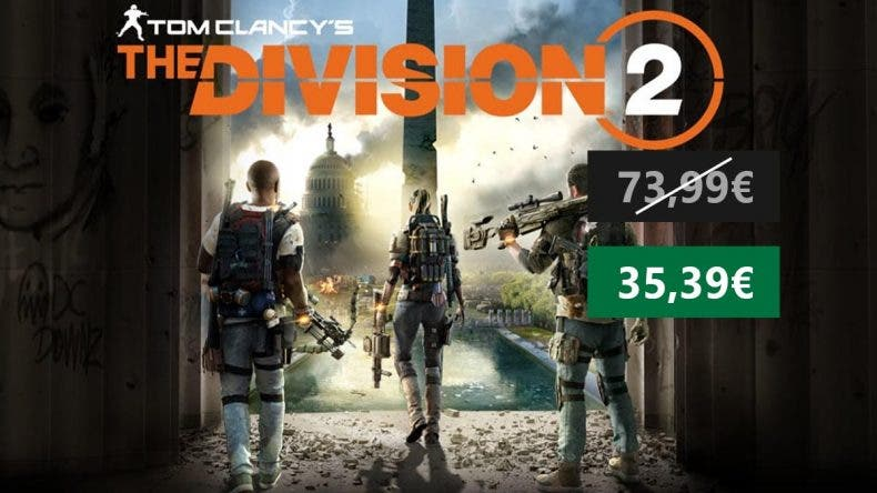 Aprovecha esta oportunidad y consigue Tom Clancy's The Division 2 a mitad de precio 1