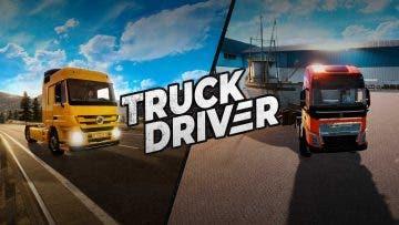 Truck Driver calienta motores con el tráiler de lanzamiento 4