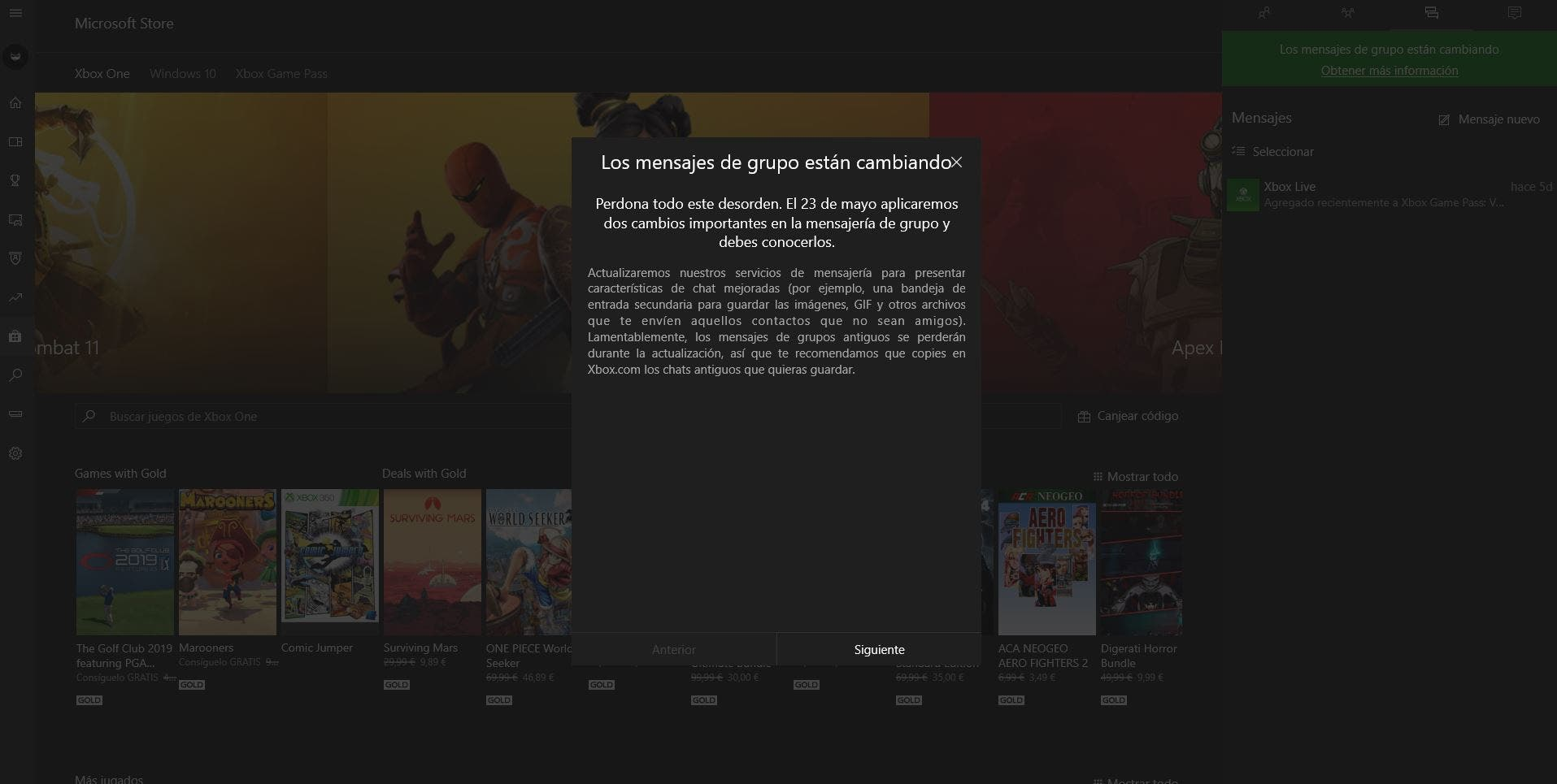 Microsoft actualiza Windows 10 con la nueva Xbox Game Bar
