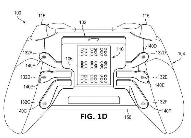 Microsoft patenta un nuevo mando para Xbox One con tecnología braille 2
