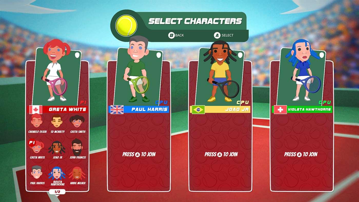Análisis de Super Tennis Blast - Xbox One 3