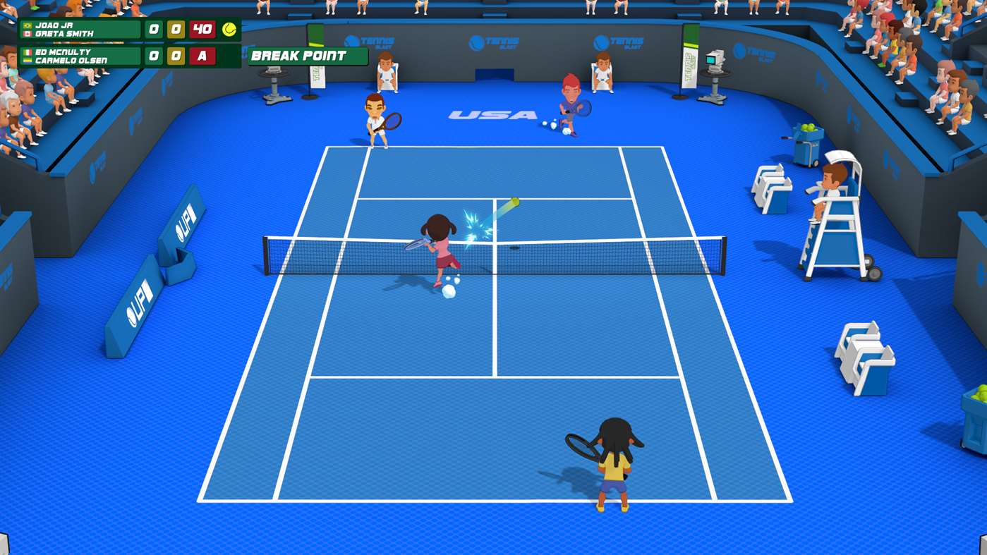 Análisis de Super Tennis Blast - Xbox One 1