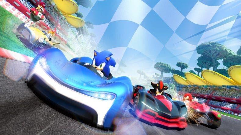 Team Sonic Racing es lo más vendido en UK durante la pasada semana 1