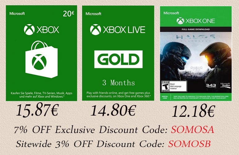 Ofertas y descuentos para juegos y servicios de Xbox One en LVLGO 2