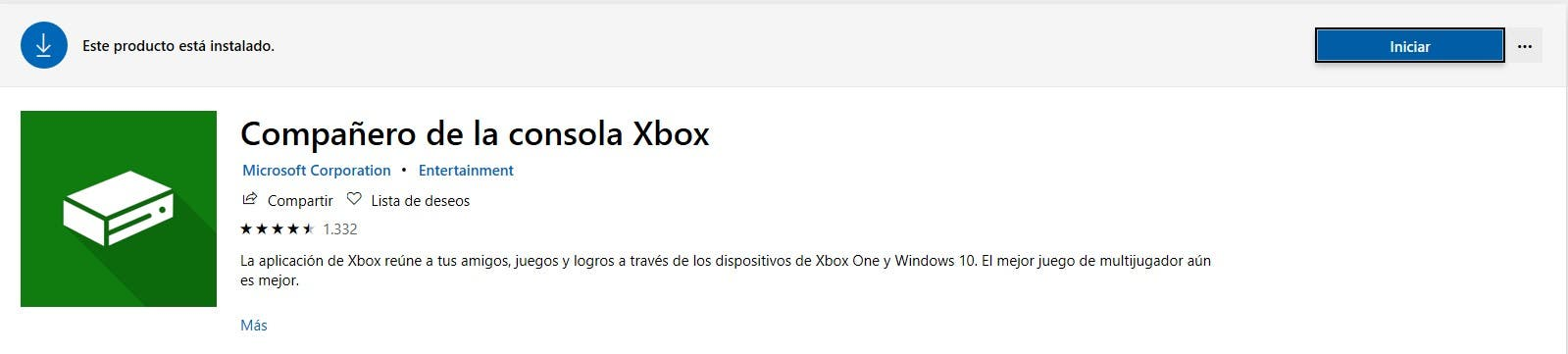 La App de Xbox en Windows 10 cambia de nombre 2