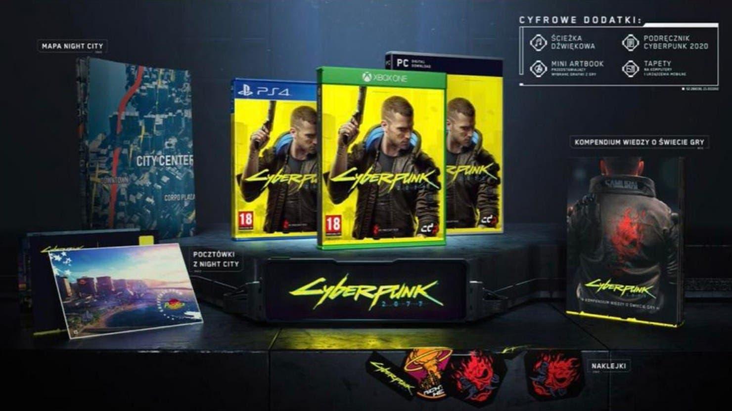 Se filtra la portada y la edición estándar de Cyberpunk 2077 2