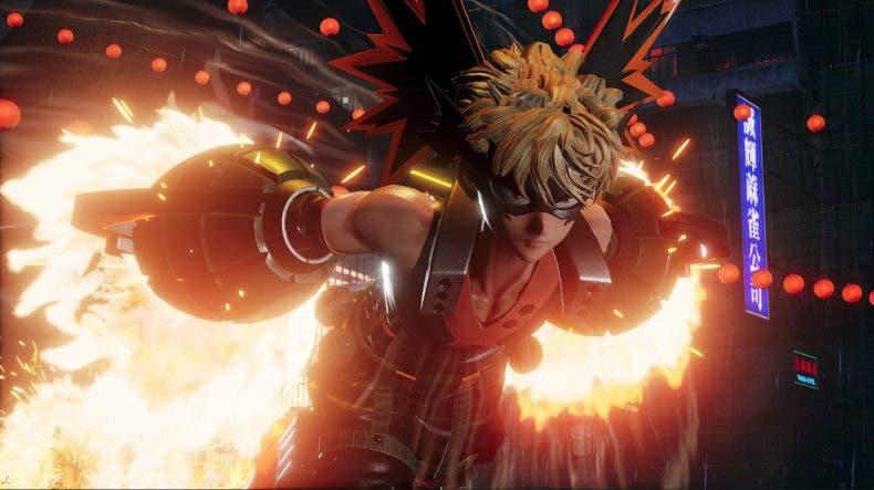 Bakugo, de My Hero Academia, llegará a Jump Force próximamente 1