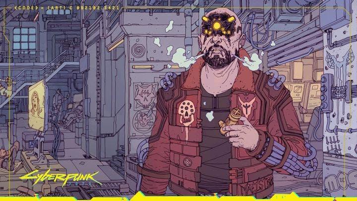 Así de curioso resulta Cyberpunk 2077 con un estilo retro de 32-bits