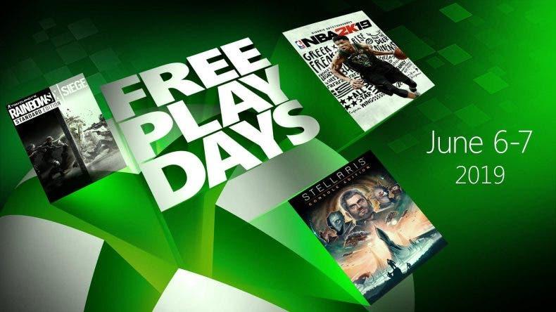A la propuesta de Rainbow Six Siege, se unen NBA 2k19 y Stellaris, que también estarán gratis este fin de semana vía Free Play Days.