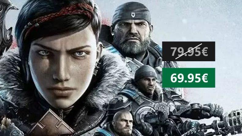 Gears 5 ya tiene su primer descuento de 10€ en Amazon 1