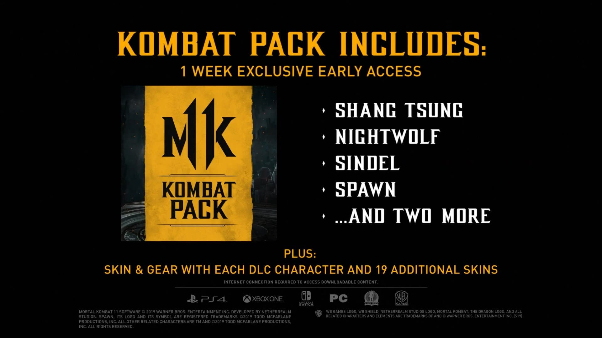 Presentan los primeros luchadores que llegarán vía DLC a Mortal Kombat 11 2