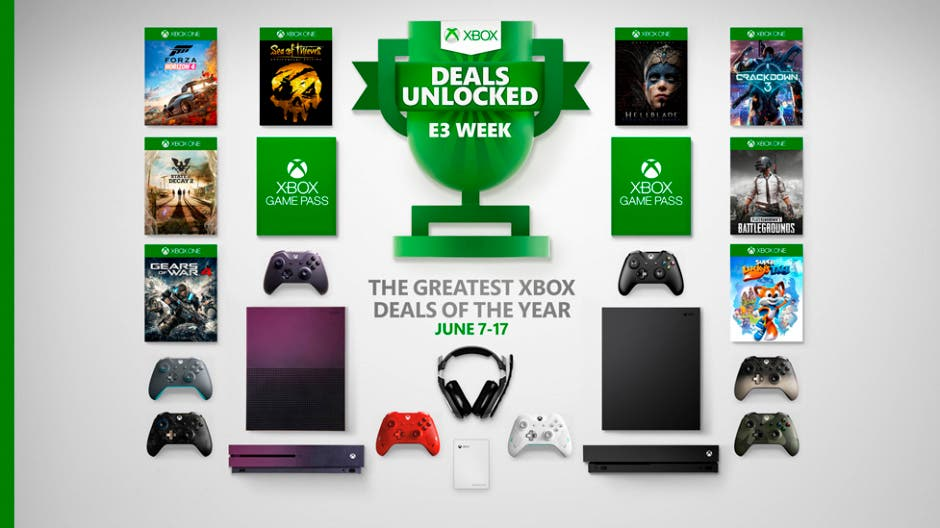 ofertas de Xbox con motivo del E3 2019