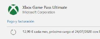 Cómo convertir tus suscripciones a Xbox Game Pass Ultimate por 1€ 3
