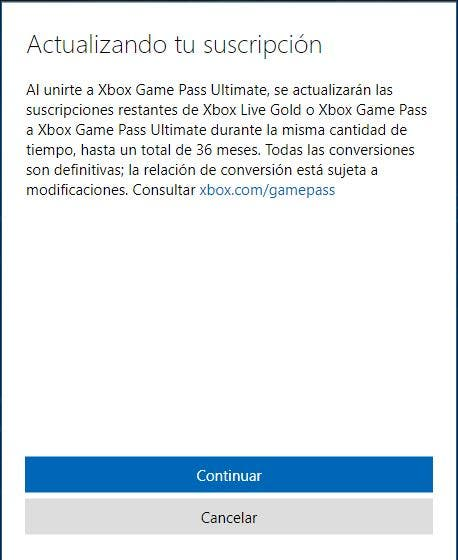 Cómo convertir tus suscripciones a Xbox Game Pass Ultimate por 1€