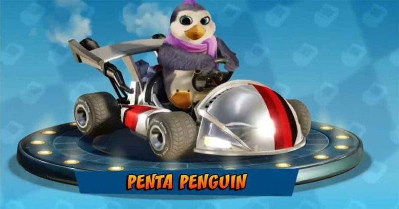 Cómo desbloquear a Penta Penguin en Crash Team Racing Nitro-Fueled 1