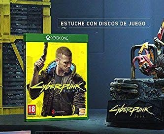 Cyberpunk 2077 dos discos