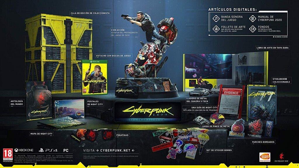 cyberpunk 2077 edicion coleccionista
