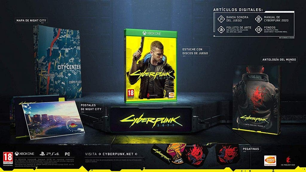 cyberpunk 2077 edicion day one