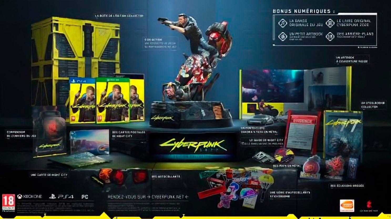 edición coleccionista de Cyberpunk 2077