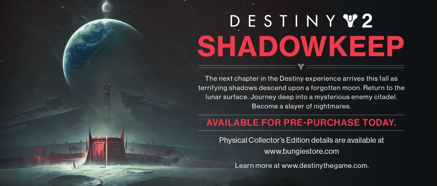 Se filtra la próxima gran expansión de Destiny 2 2