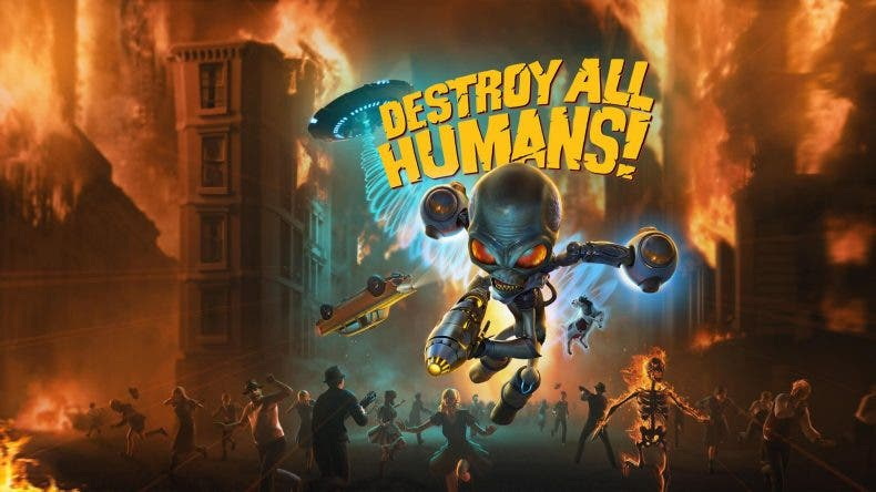 Confirmado el remake de Destroy All Humans! 1