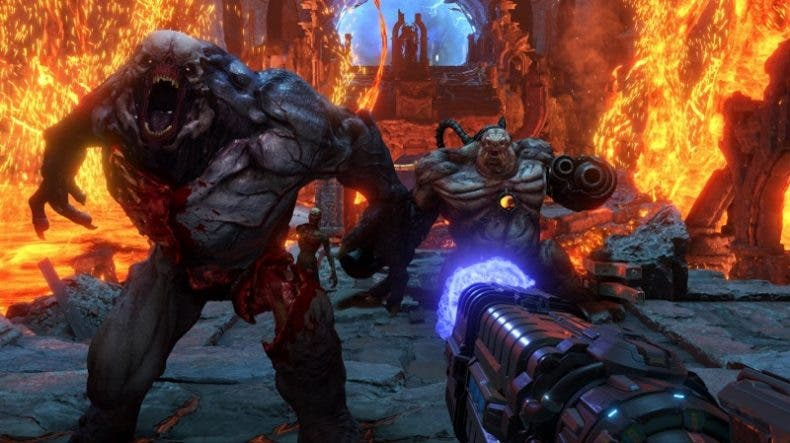 DOOM Eternal luce su multijugador en un nuevo gameplay de 12 minutos 1