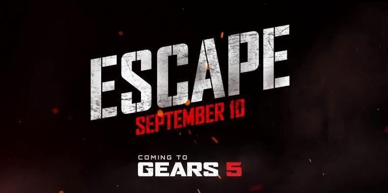 14 minutos de gameplay de Escape, el nuevo modo de Gears 5 1