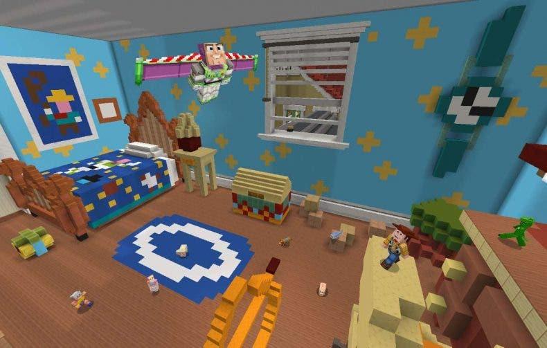 Toy Story llega a Minecraft de la mano de su nuevo DLC 1