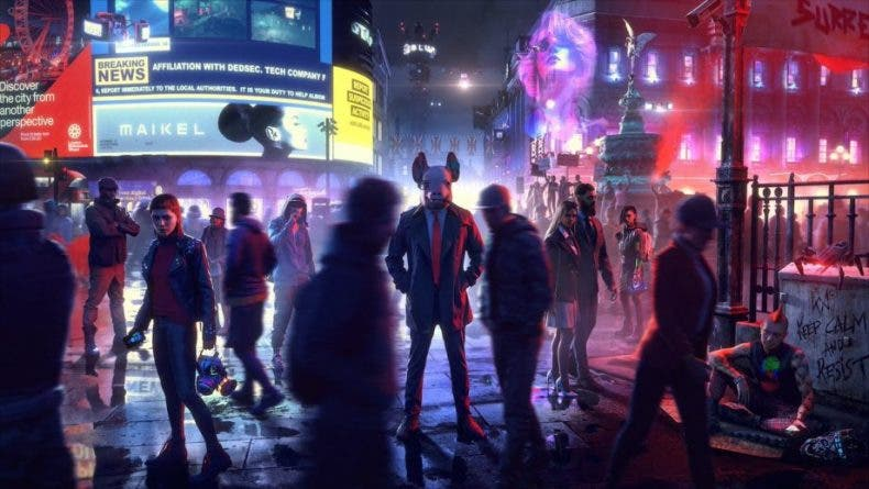 Ya puedes descargar Watch Dogs Legion en Xbox One