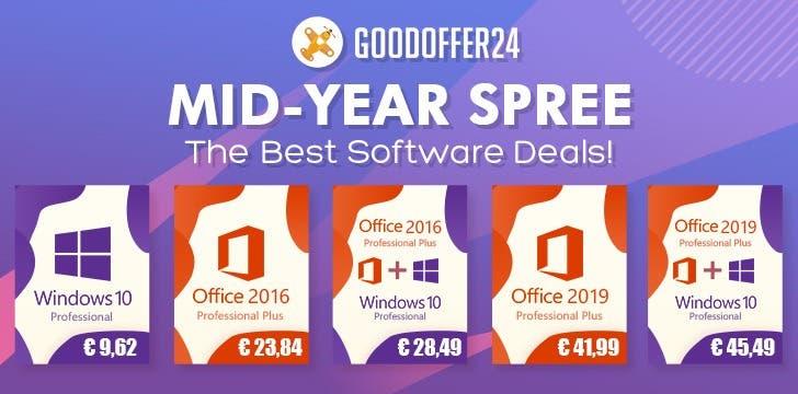 Descuentos en claves de Windows 10, Office 2016 y 2019 1