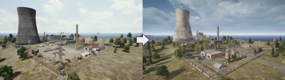 Erangel, el mapa de PUBG, ha recibido grandes cambios en la última actualización 3