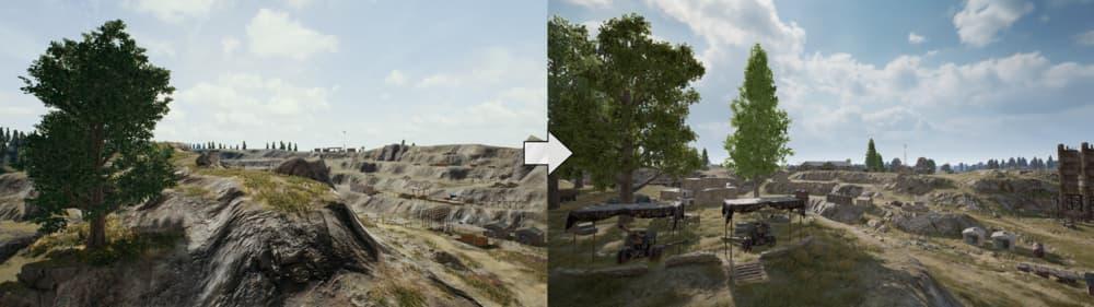 Erangel, el mapa de PUBG, ha recibido grandes cambios en la última actualización 4