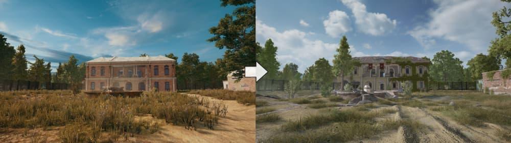 Erangel, el mapa de PUBG, ha recibido grandes cambios en la última actualización 5