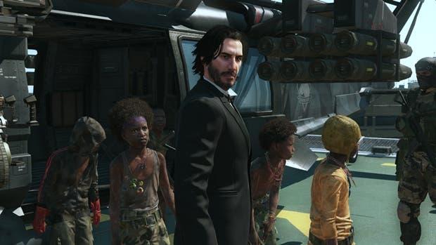 ¿Jugar a Metal Gear Solid V con Keanu Reeves? Es posible 2