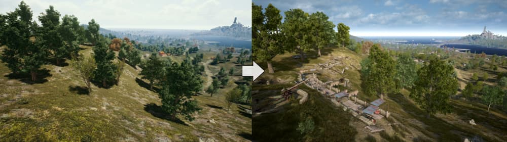 Erangel, el mapa de PUBG, ha recibido grandes cambios en la última actualización 8