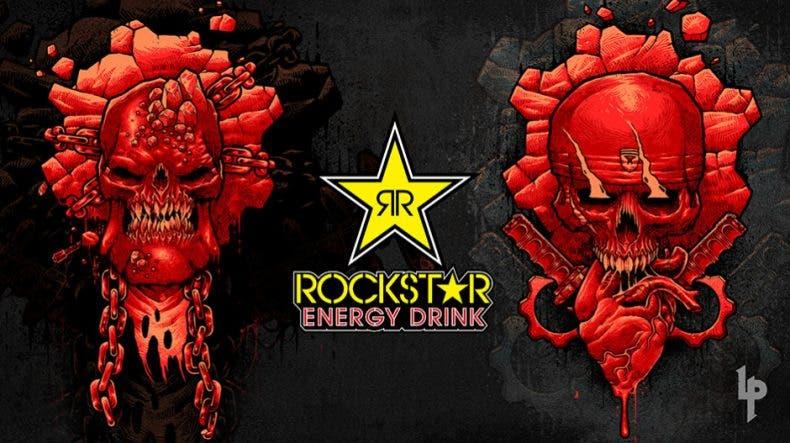 Así son las latas inspiradas en Gears 5 de Rockstar Energy Drink 1