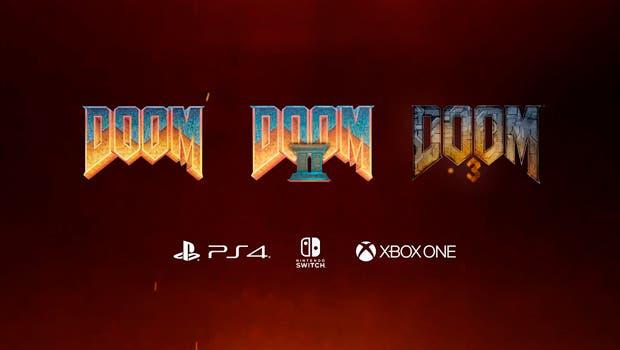 Los primeros tres DOOM llegan por sorpresa a Xbox One 1