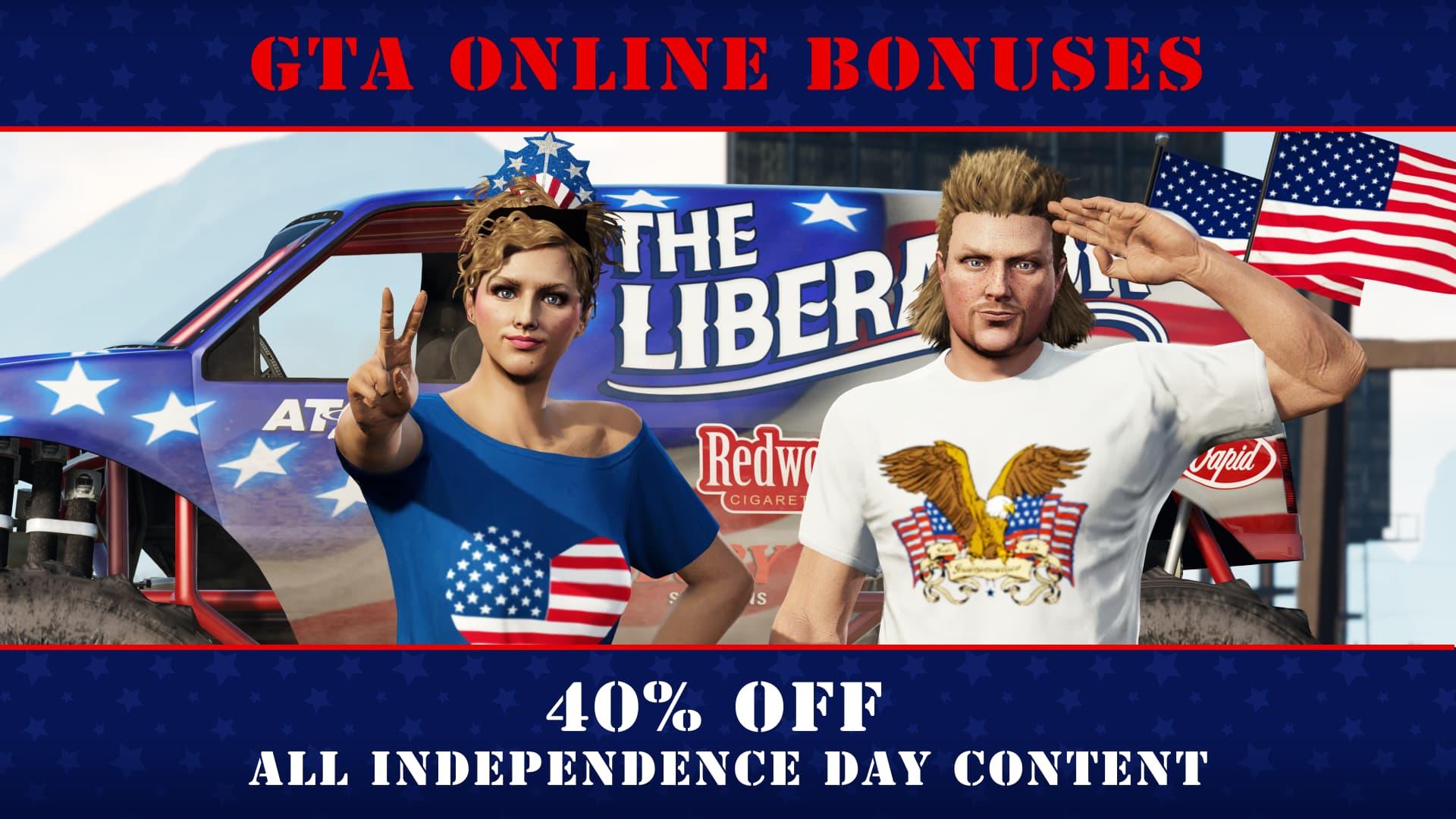 Nuevas bonificaciones y descuentos en GTA Online esta semana 2