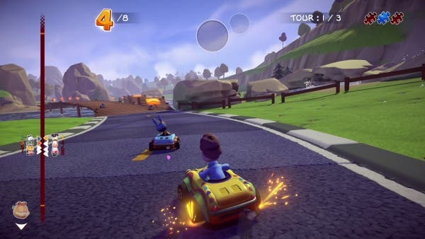 Garfield Kart: Furious Racing confirmado para llegar en septiembre a Xbox One