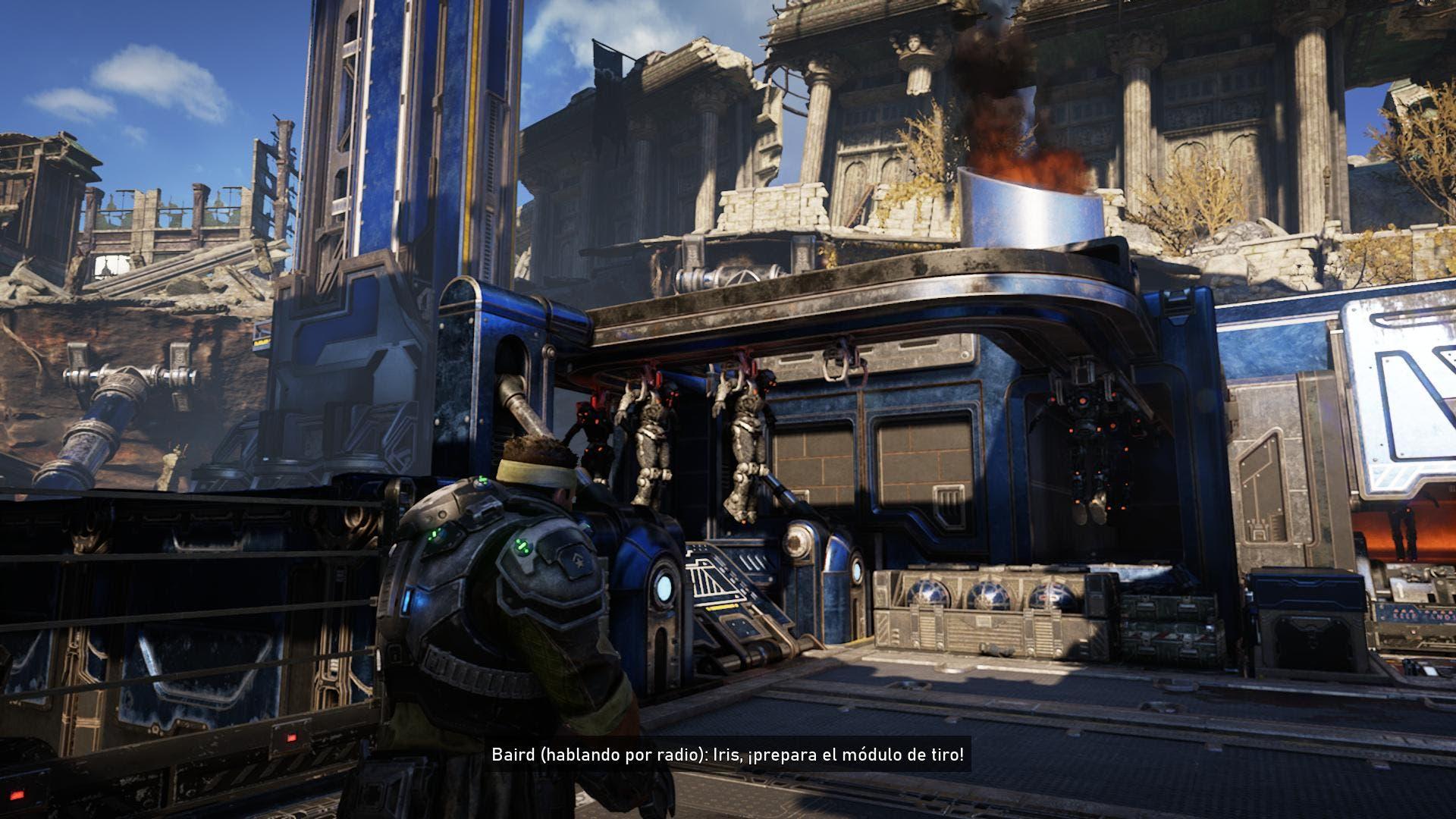 Test de rendimiento y comparativa de Gears 5 en Xbox One X y Xbox One