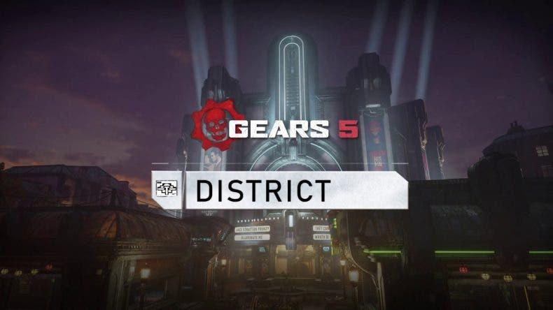 Se presenta el primer mapa que estará en el test técnico de Gears 5 1