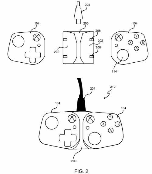 Microsoft presenta una patente de controlador desmontable adaptado para dispositivos móviles