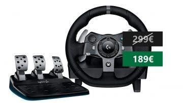 Aprovecha esta oferta en el volante Logitech G920 para Xbox One y PC 16