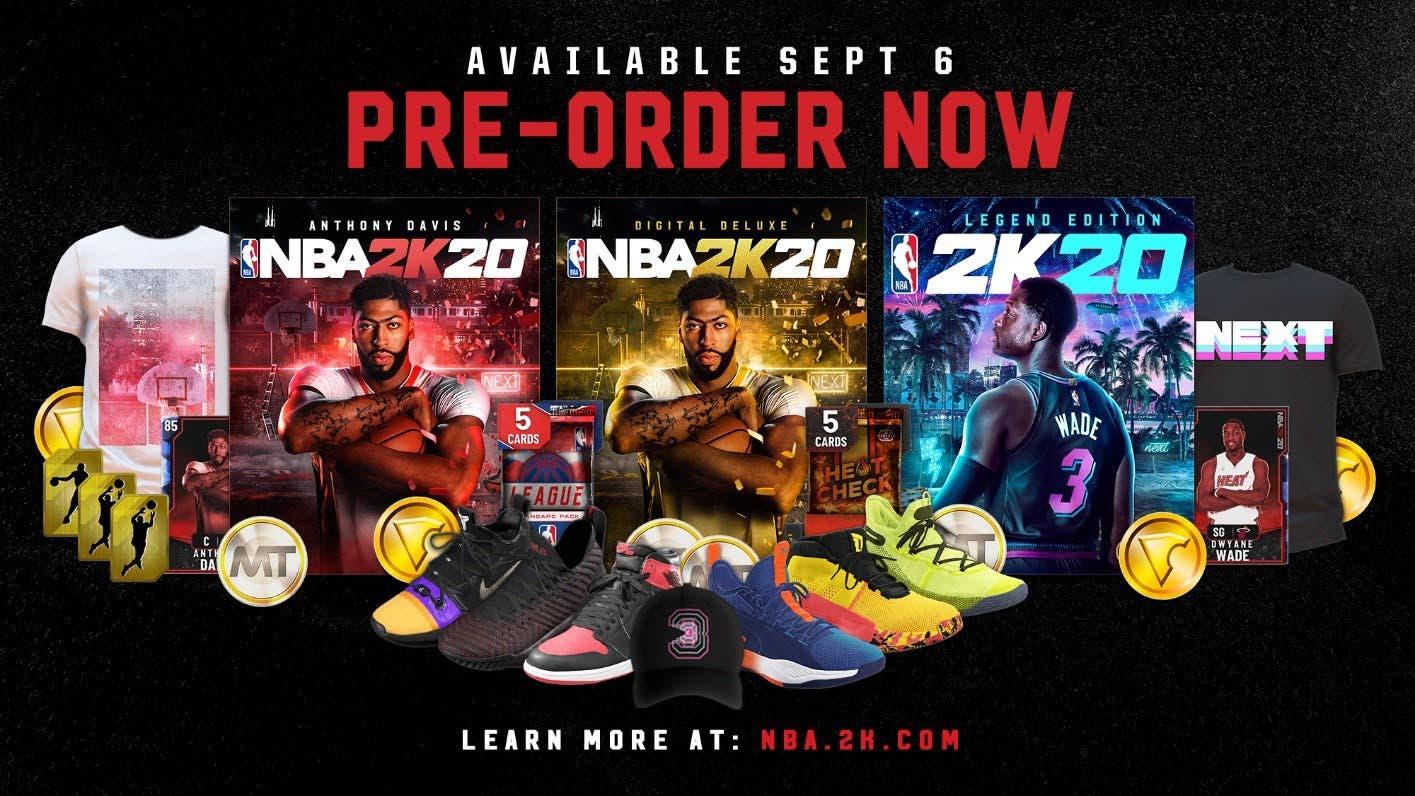 NBA 2k20 ya tiene fecha de lanzamiento y presenta edición Leyenda