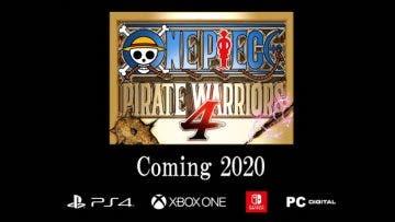One Piece Pirate Warriors 4 confirma su llegada a Xbox One en 2020