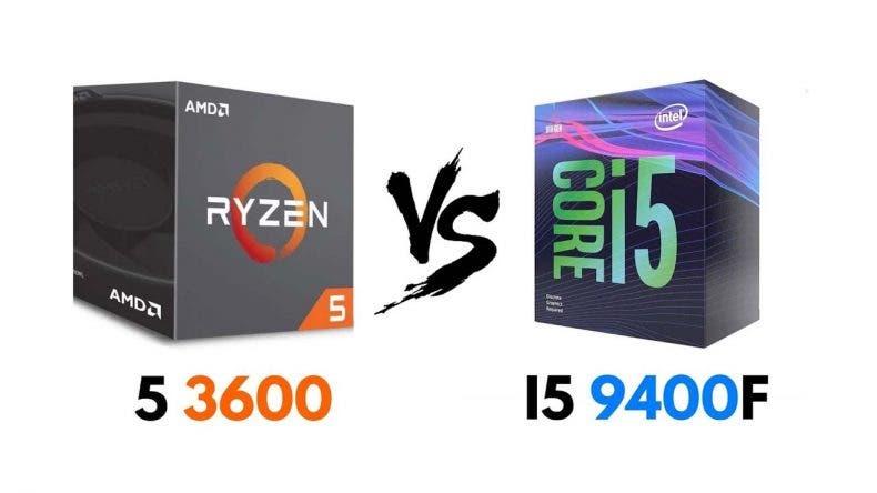 Batalla por la calidad-precio entre el AMD Ryzen 5 3600 y el Intel i5 9400F 1