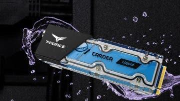 Se presentan los primeros SSD M.2 con refrigeración líquida, T-Force Cardea Liquid 7