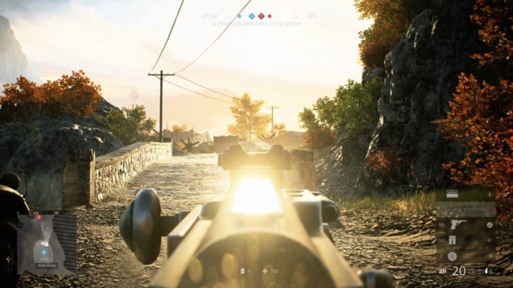Battlefield V reflejos armas